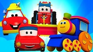 Cuộc Phiêu Lưu Vận Chuyển Bob Train | Video Giáo Dục | Bob Transport Adventure | Kids Tv Vietnam