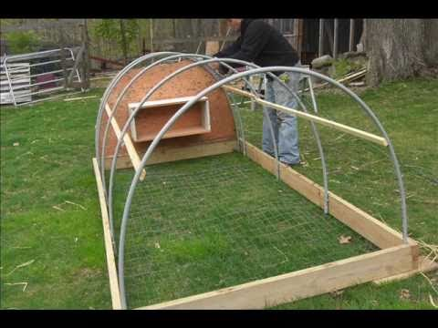 Making A Chicken Tractor Youtube