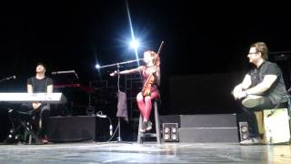 Lindsey Stirling // Speech + Song of the Caged Bird // Teatro Opera Bs As - Arg // 17-04-15