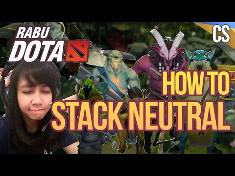 """Rabu Dota Guide - Eps 4 """"How To Stack 3 Camp"""" (with Crestfall)"""