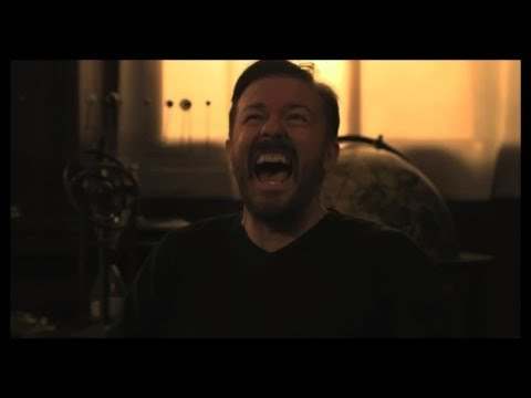 Pilot (Subtitled) | Learn English with Ricky Gervais
