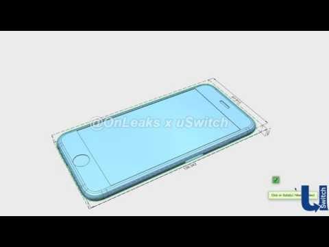 New iPhone 6s & 6s Plus design leak