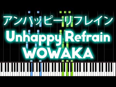 Hatsune Miku - Unhappy Refrain 『アンハッピーリフレイン』| Midi Piano. video