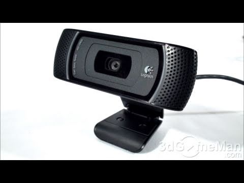 #1182 - Logitech HD Pro Webcam C910 Video Review