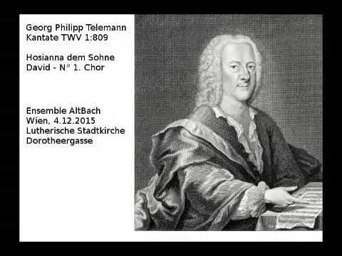 Телеман Георг Филипп - Hosianna, dem Sohne David