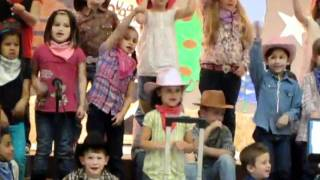 Houston Texans Kids singing cowboys songs # 2