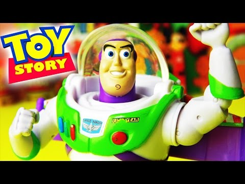 Toy Story - Buzz lightyear unboxing – EPIC funny real life movie - pelicula by supercool4kids