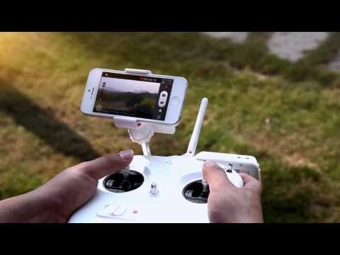 DJI Phantom 2 Vision GPS RC Quadcopter With 5.8G Radio FPV Camera