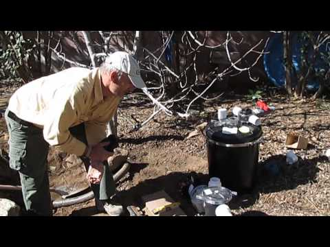 How to install an external pond pump and filter system for Set up pond filter system