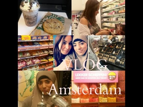 [VLOG] Escapade à Amsterdam avec MakeupFatim + Haul + Crash test + Tag