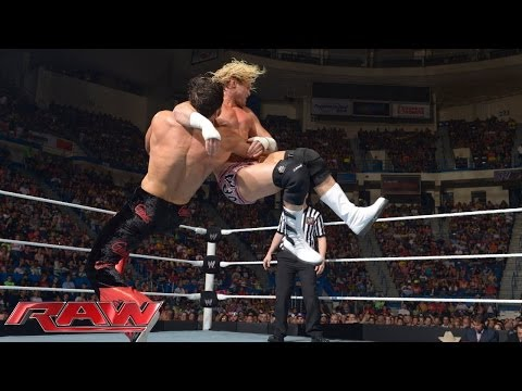 Dolph Ziggler vs. Fandango: Raw, June 30, 2014