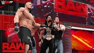 WWE 2K17 Custom Story - WTF The Shield Returns Raw 2017 ft. Fake Shield, Lesnar, Ellsworth - PART 6