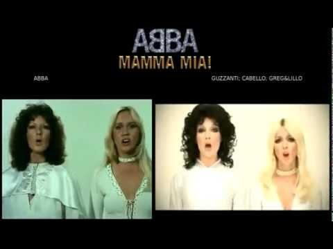 Abba – Mamma mia : originale e parodia ( Guzzanti Cabello Lillo & Greg ) a confronto