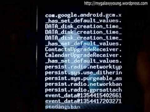 Overclocking Samsung Galaxy Y to 1.2Ghz with Merruk 2.5 Kernal