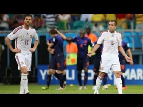 Eduardo Vargas GOAL 2-0 Chile vs Spain 2014 FIFA World Cup [REVIEW]