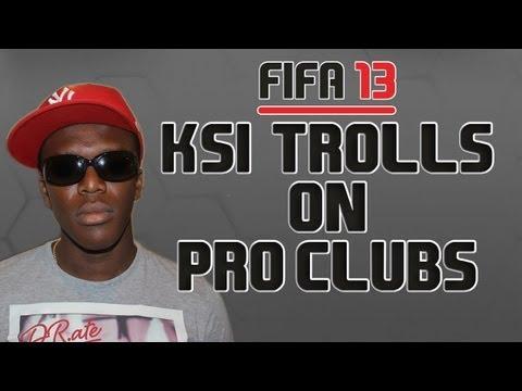 KSI Trolls on Pro Clubs
