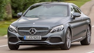 2017 Mercedes C-Class Coupe Review--A GREAT TOURING CAR