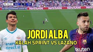 BOOM JORDI ALBA VS HIRVING LOZANO ADU SPRINT GILA