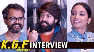 KGF Movie Team Interview By Shilpa Chakravarthy | Rocking Star Yash | Srinidhi | Prashanth Neel
