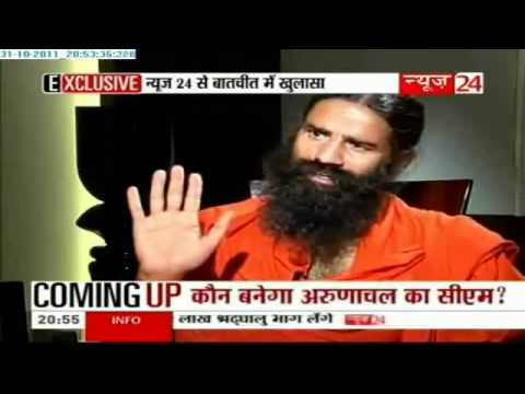 Part 33 - Baba Ramdev Interview 11 January 2011