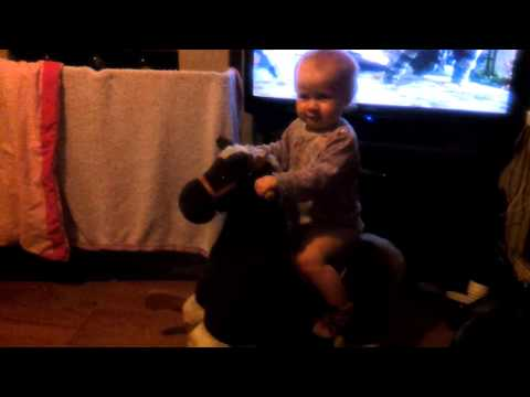 Bekka On Rocking Horse Xxx video