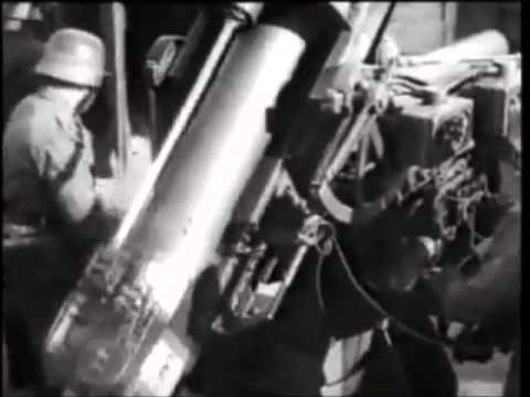 WW2 FlaK 88 in HD Footage!