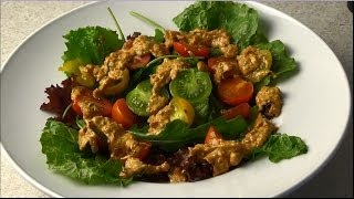Veganes Salatdressing - I love salad dressing - Vegan For Fit