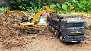 RC Vehicles for children | Excavator for kids | Best R/C Construction Site