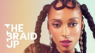 Double-Loop Box Braids | The Braid Up | Cosmopolitan