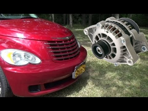 PT Cruiser Alternator Replacement - Complicated As Usual
