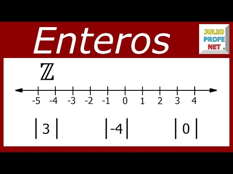 Números Enteros y Valor Absoluto-Integers and Absolute Value