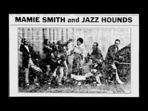 First Black Woman To Record Blues!! | Mamie Smith - Crazy Blues