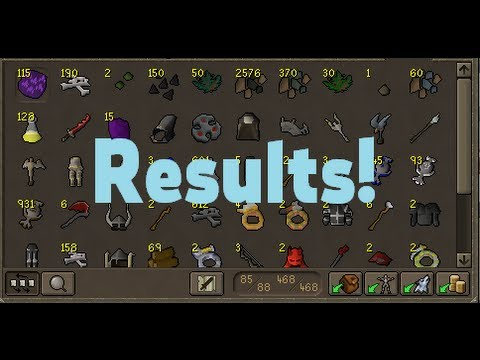 Day 7 of PvM week - Results!