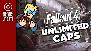 Fallout 4 Unlimited Caps Exploit Discovered - GS News Update