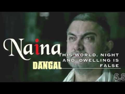 Naina Dangal-Arijit Singh With English Subtitles