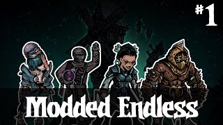 Into the fire! -- Darkest Dungeon Endless #1 (Hollow, Enigma, Sisters, Thrall)