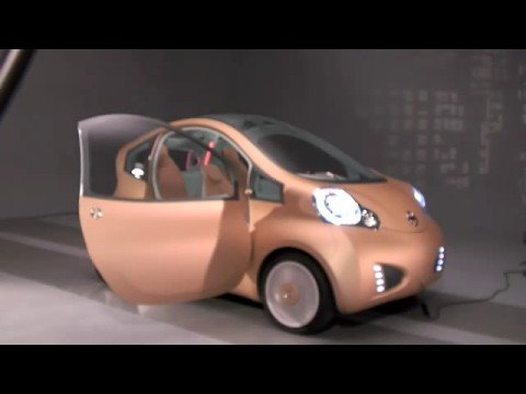 Nissan NuVu EV Concept