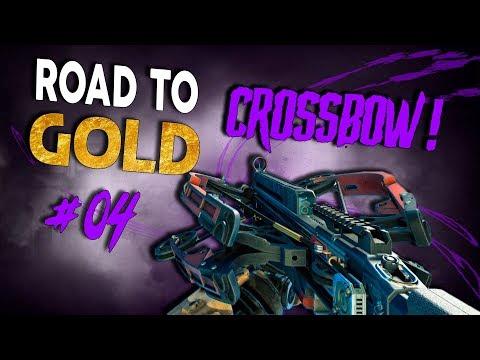 FOI NERFADO, MAS AINDA É ROUBADO! - Road To Gold: Crossbow #04 - Black Ops 4