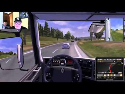 Euro Truck Simulator a lo pro! Carmeeeeen - Karaoke