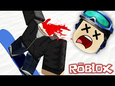 HORRIFIC SKIING ACCIDENT IN ROBLOX!