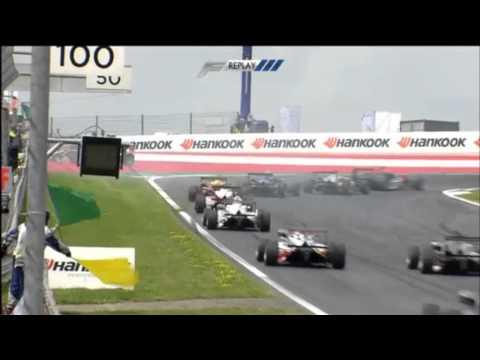 Esteban Ocon Spins @ 2014 Formula 3 Spielberg Race 2