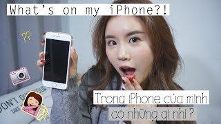 Trong iPhone của mình có những gì nhỉ ?   What's on my iPhone?