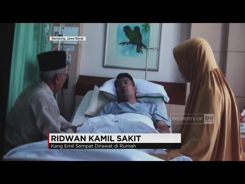 Wali Kota Bandung, Ridwan Kamil Sakit #1