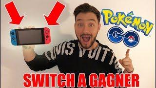 CONCOURS Nintendo SWITCH & Event POKEMON GO !