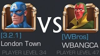 MARVEL: Contest of Champions (iOS/Android) WBANGCA vs SUPER GAMING FAMILY