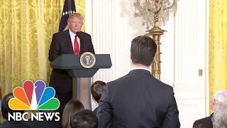 Peter Alexander Fact Checks President Donald Trump On Incorrect Electoral College Margin   NBC News