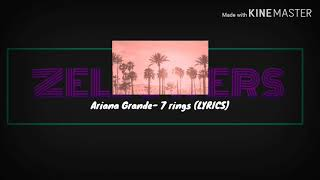 7 rings LYRICS- Ariana Grande