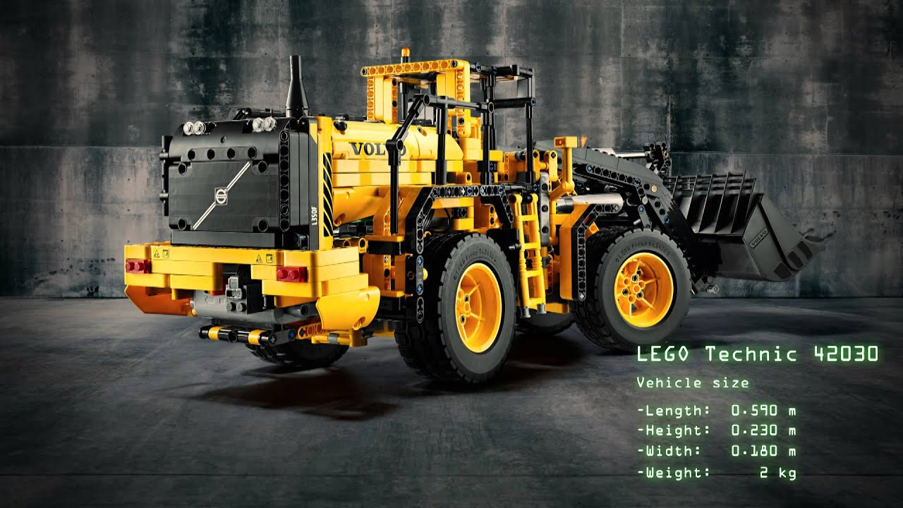 lego technic hjullastare volvo l350f fr n volvo. Black Bedroom Furniture Sets. Home Design Ideas