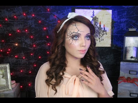 Cute Haunted Doll Makeup Transformation