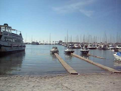 Marina and beach puerto alcudia